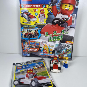 LEGO City Magazin Nr. 17 : Fahrer + Auto+Ninjago Bilder Ausgabe - Juni 2020 im Review
