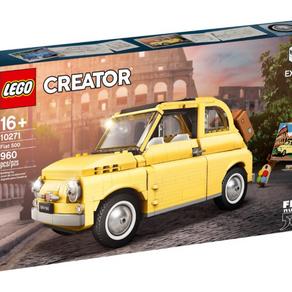 LEGO Fiat 500 im LEGO Online Shop gelistet für 79,99 Euro alle Bilder