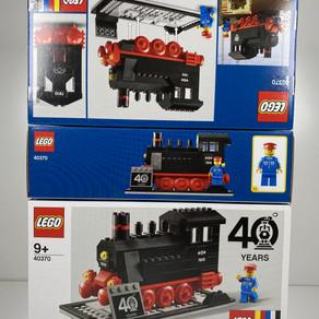 40. Jubiläum von LEGO® Eisenbahn mit 40370 das Highlight 2020 im Review