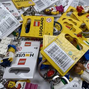 LEGO Schlüsselanhänger und Co. aus dem LEGO-House in Billund