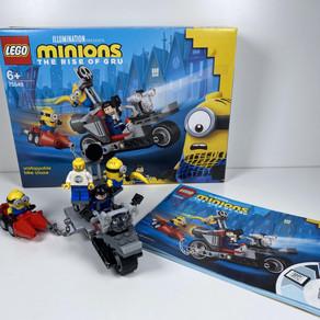 LEGO Minions 75549 Unaufhaltsame Motorrad-Jagd im Review