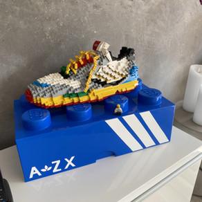 Adidas LEGO ZX 8000  -  LEGO MOC XXL
