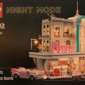 Offizielle (LEGO) Beleuchtungssets in Kopenhagen ausgestellt