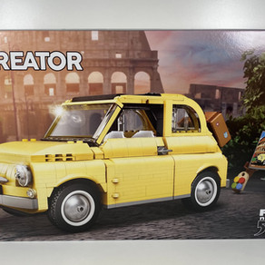 LEGO 10271 Creator Expert Fiat 500 im Review und Stop Motion Film ;-) und Abarth Umbau