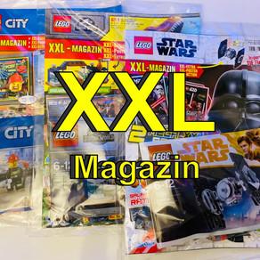 LEGO XXL Magazine sind heute angekommen Star Wars - City - Jurassic World