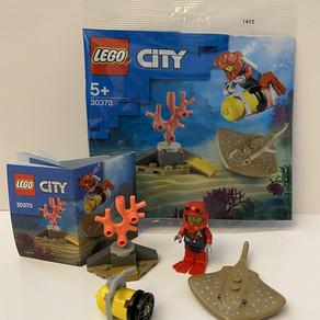 LEGO City 30370 Tiefseetaucher mini Review - Polybag Gratis ab 10 Euro bei Smyth Toys geliefert