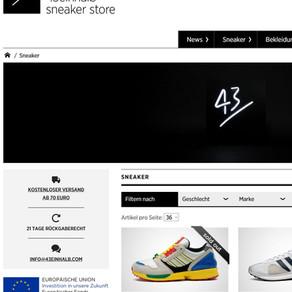 43einhalb - Adidas LEGO Sneaker bereits nach 35 Minuten Ausverkauft!