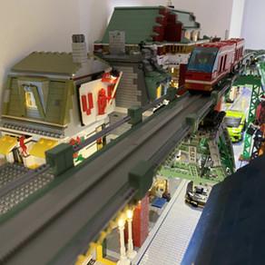 LEGO 6399 Monorail als Hochbahn - MOC im Review