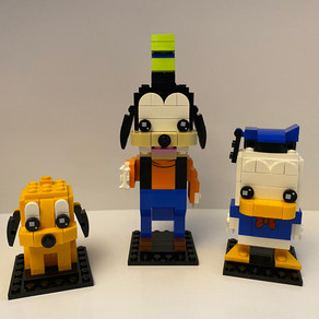 LEGO BrickHeadz Goofy Nr 99 ist gewachsen ;-) UPDATE!