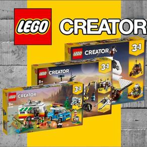 LEGO 3 Neue Creator Sets  31107, 31108 und 31109