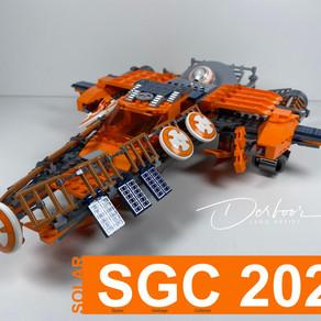 LEGO Space Classic SGC 2020 - SOLAR  MOC im Review