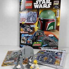 LEGO Star Wars Magazin Nr. 61 mit dem AT-AT Ausgabe Juli 2020 im Review