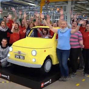 LEGO 10271 Fiat 500 - XXL 189.032 Teile 400kg schwer gebaut in 830 Stunden