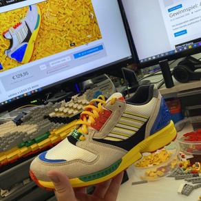 Adidas LEGO ZX 8000 Schuhe und als LEGO MOC streng limitiert