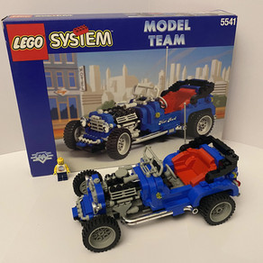 LEGO Model Team 25 Jahre  - 5541 Hot Rod von 1995 im Classic Review