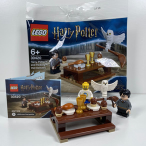 "LEGO Harry Potter 30420 – Harry Potter und Hedwig ""Eulenlieferung"" im Review"