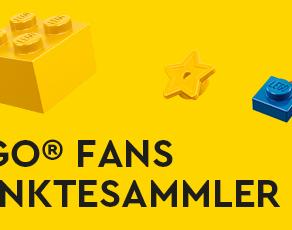 Für LEGO® Fans und Punktesammler - Bei Müller - LEGO Sammel-Ausweiss