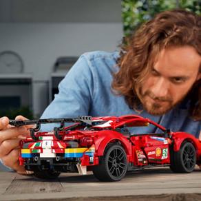 NEWS!!! LEGO TECHNIC FERRARI 488 GTE