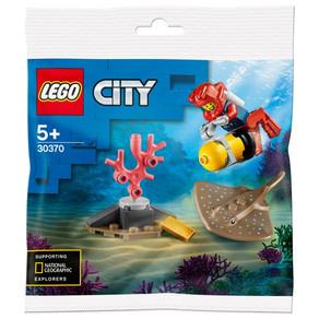 LEGO City 30370 Tiefseetaucher Polybag Gratis ab 10 Euro bei Smyth Toys