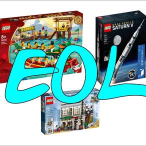 End of Life - diese LEGO Sets gehen...
