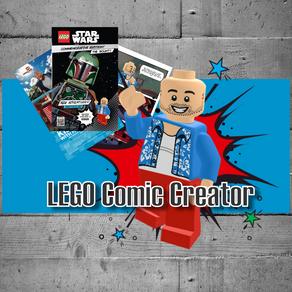 LEGO Comic Creator - mit Print leider nur im Ausland - hier als PDF Download