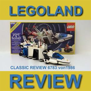 LEGO 6783 Sonar Transmitting Cruiser von 1986 (Light & Sound) im Classic Review