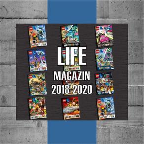 LEGO Life alle Magazine zum Download bei LEGO - 2018 bis 2020