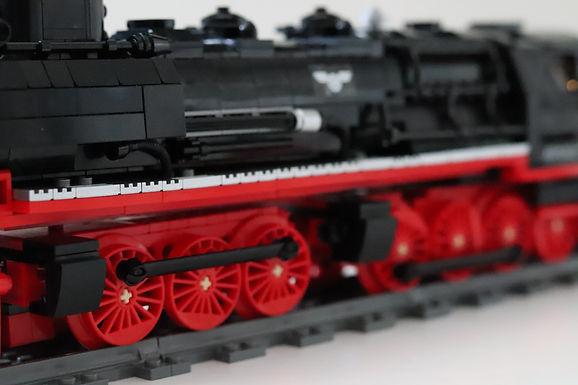 06 - LEGO MOC - Dampflok mit Tender
