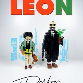 Léon der Profi - Jean Reno und Natalie Portman  aus LEGO