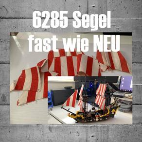 LEGO 6285 Piratenschiff - Alte Segel müssen nicht weg! Schaut mal hier!