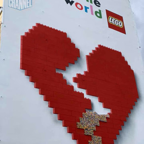 "LEGO Event in BERLIN ""rebuild the world"""