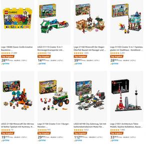 NEWS !!! Tolle LEGO Oster Angebote bei AMAZON.de bis zu 43% z.B. LEGO City Güterzug 112,99 Euro