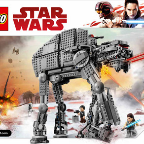 LEGO 75189 First Order Heavy Assault Walker™ EOL im kurz Review aus 2017 - Preise ziehen an.