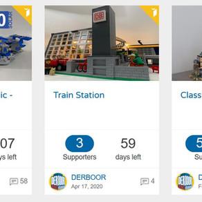 LEGO Ideas - Space Classic Raumschiff - Bahnhof - Classic Castle jede Stimme zählt.