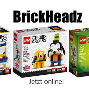 LEGO BrickHeadz Donald Duck, Goofy & Pluto, Osterlamm jetzt online!