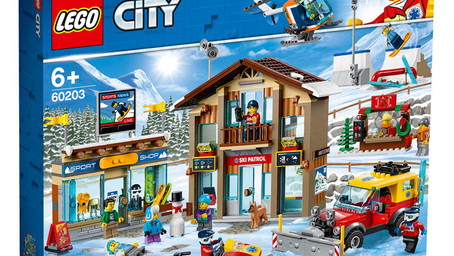 LEGO City 60203 Ski Resort: Neues Winter-Set