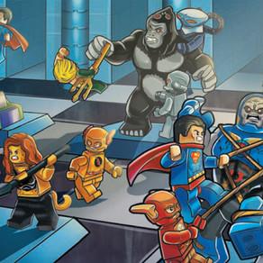 LEGO DC Super Heros COMIC mit THE FLASH Minifigur