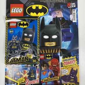 LEGO BATMAN Magazin Nr. 8 : Ausgabe mit Batman Minifigur im Review