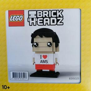 LEGO  BrickHeadz 6315025 aus Amsterdam - und die Verpackung!