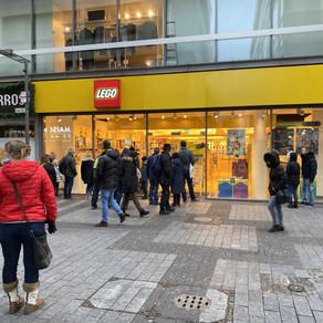 Heute im LEGO Store Köln - Neuheiten 2020 - Ansturm auf Audi und der Buchhandlung!