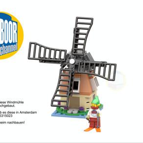 LEGO 6315023 Windmühle - Amsterdam DIEBAUANLEITUNG - zum Nachbauen