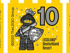 Werdet Besuchsmeister 2020 im LEGOLAND® und sichert euch eure exklusiven LEGO® Besuchsmeistersteine!