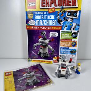 Die Erstausgabe LEGO EXPLORER 08/20 liegt in den Regalen - was ist drin? Review