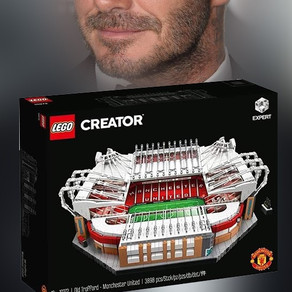 David Beckham! Baut er das CREATOR EXPERT 10272 - Old Trafford - Manchester United?