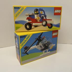 LEGO LEGOLAND 6642 von 1988 - 6528 von 1989 - mit Geschichte aus Husum.