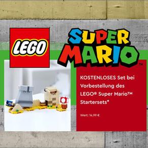 LEGO Super Mario mit Gratis-Zugabe jetzt im LEGO Online Shop vorbestellen!