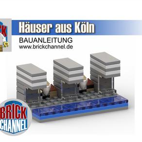 Bauanleitung für LEGO® Steine - exklusiv nur hier bei Brickchannel - Häuser aus Köln