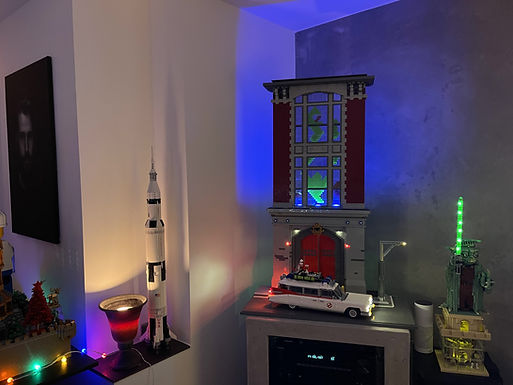 09 Ghostbusters™ ECTO-1 10274 MOD und HQ Diorama XXL