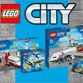 LEGO City Sets im Sommer 2020 - Flugzeuge und Hubschrauber