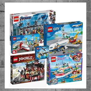LEGO NEWS!!! JURASSIC WORLD / MARVEL / DC / DOTS /FRIENDS NEU 2020